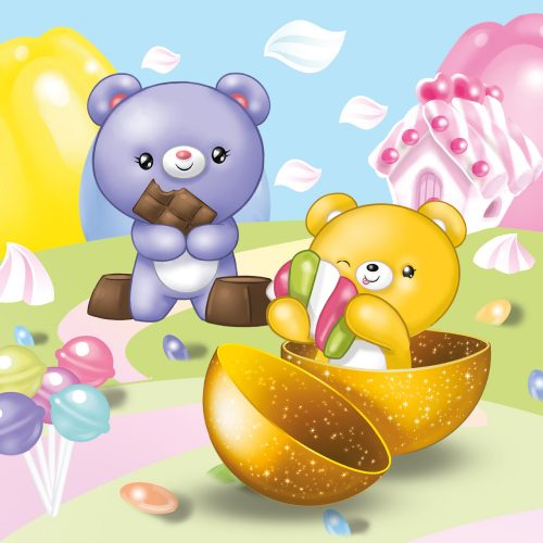 Bungling Bears Candy