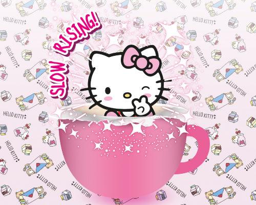 Hello Kitty Cappuccino